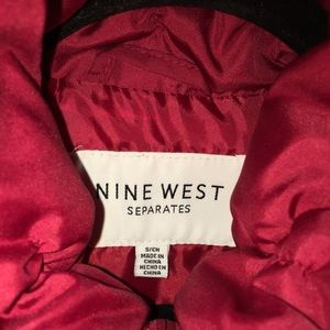 Nine West Jackets & Coats - Red Nine West Vest SMALL